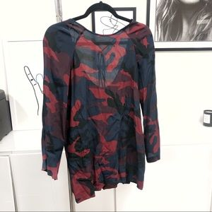 ZARA Camo Print Dress